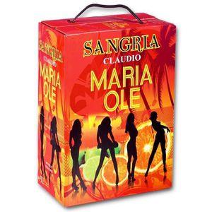 Apéritif à base de vin Bag in Box® Sangria Maria Ole 3 litres