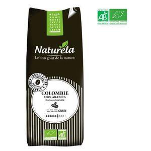 CAFÉ - CHICORÉE NATURELA Café en grain - Colombie - 100 % Arabica