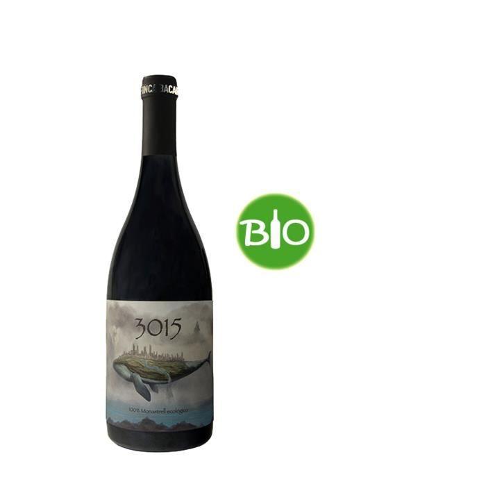 VIN ROUGE 3015 Jumilia Vin d'Espagne - Rouge - 75 cl - Bio