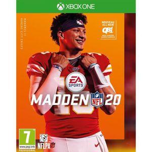 JEU XBOX ONE Madden NFL 20 Jeu Xbox One