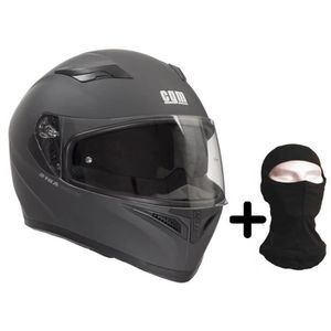 CASQUE MOTO SCOOTER CGM Casque intégral 316A Tampere + Cagoule - Homme