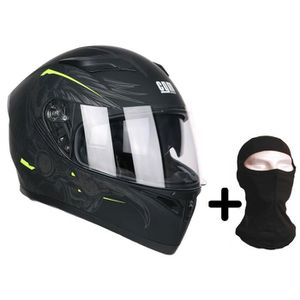CASQUE MOTO SCOOTER CGM Casque intégral 316S Indian + Cagoule - Homme