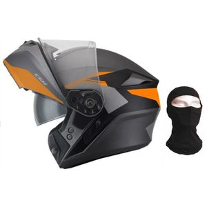 CASQUE MOTO SCOOTER CGM Casque modulable 508G Dresda + Cagoule - Homme