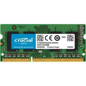 MÉMOIRE RAM Mémoire CRUCIAL 4GB DDR3L 1600 MT/s (PC3-12800) CL