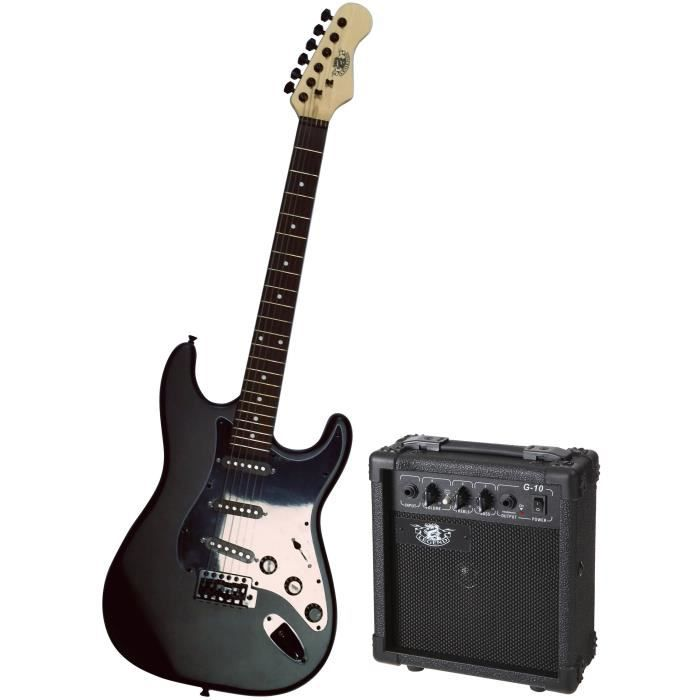 pack guitare pas cher achat vente pack guitare cdiscount. Black Bedroom Furniture Sets. Home Design Ideas