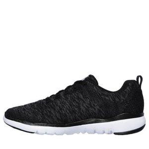 separation shoes d02ea 883d0 ... BASKET SKECHERS Baskets Flex Appeal 3.0 - Femme - Noir et ...