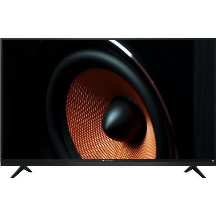 """Téléviseur LED CONTINENTAL EDISON TV LED HD 80cm (32"""") avec barre"""