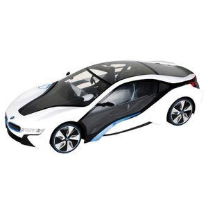 VOITURE - CAMION MONDO Voiture télécommandée BMW I8 1:18 Blanche