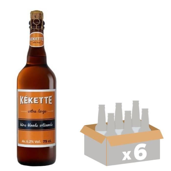 BIÈRE Kekette Bière Blonde 0,75 L x 6