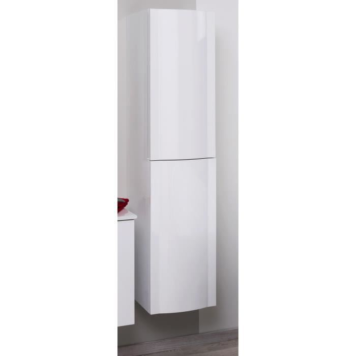 Rony colonne de salle de bain 35 cm laqu blanc achat for Colonne de salle de bain 40 cm