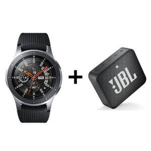 MONTRE CONNECTÉE Samsung Galaxy Watch Gris Acier + Enceinte JBL GO