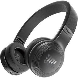 CASQUE - ÉCOUTEURS JBL E45BT Casque Bluetooth - 16h d'autonomie - Mic