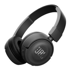 CASQUE - ÉCOUTEURS JBL T450BTBLK Casque supra-auriculaire Bluetooth -