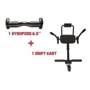 HOVERBOARD Hoverboard + Kit kart - Super drift pack noir - pa