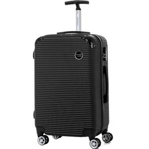 VALISE - BAGAGE TRAVEL WORLD-TW00160-MBLK-Valise week-end taille M