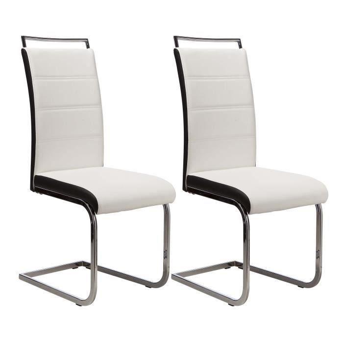 dylan lot de 6 chaises salon blanc noir Résultat Supérieur 5 Merveilleux Chaise Salon Photos 2017 Kdh6