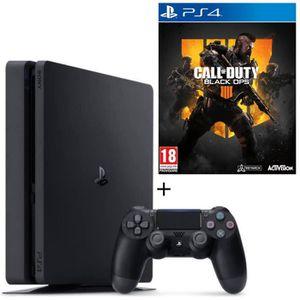 CONSOLE PS4 NOUVEAUTÉ Pack PS4 500 Go + Call of Duty Black Ops 4