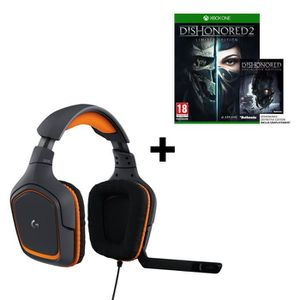 CASQUE  - MICROPHONE Logitech Micro-Casque Gamer G231 Prodigy Filaire C