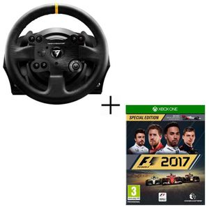 JOYSTICK - MANETTE Pack ThrustMaster Volant TX Racing Wheel Leather E