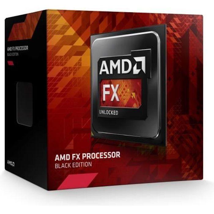 PROCESSEUR AMD FX 8350 Black Edition 4GHz    FD8350FRHKBOX