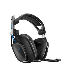 CASQUE AVEC MICROPHONE ASTRO GAMING A50 + MixAmp TX Dolby 7.1 Noir compat