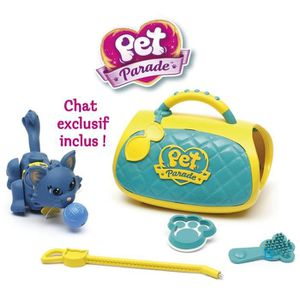 FIGURINE - PERSONNAGE PET PARADE Chats Coffret Soin