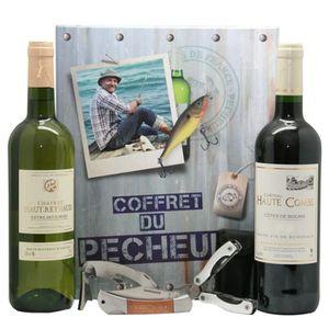 COFFRET CADEAU VIN Coffret du Pêcheur vin et accessoires