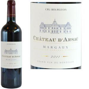VIN ROUGE Château d'Arsac Margaux 2011 - Vin Rouge