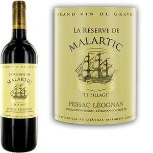 VIN ROUGE La Réserve de Malartic Pessac Léognan 2013 - Vin r