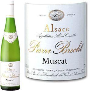 VIN BLANC Pierre Brecht Muscat - Vin blanc d'Alsace