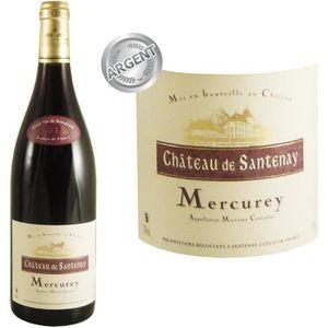 VIN ROUGE Château de Santenay Mercurey 2012 - Vin rouge x6