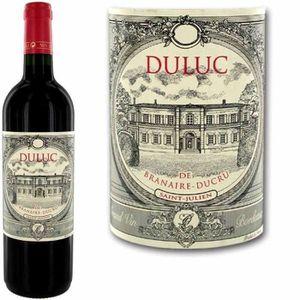 VIN ROUGE Duluc de Branaire Ducru Saint Julien 2013 - Vin...