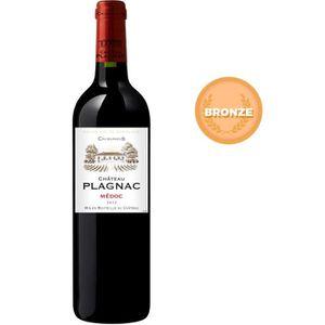 VIN ROUGE Château Plagnac Médoc 2012 - Vin rouge