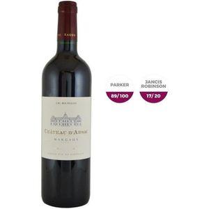 VIN ROUGE Château D'Arsac 2015 Margaux - Vin rouge de Bordea