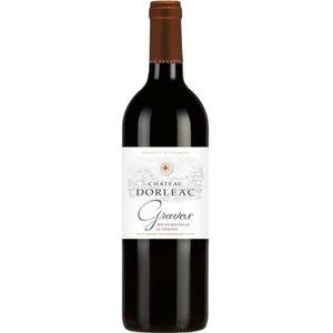 VIN ROUGE Château Dorléac 2016 Graves - Vin rouge de Bordeau
