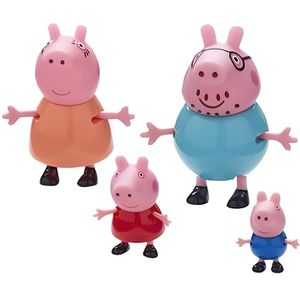 FIGURINE - PERSONNAGE PEPPA PIG Coffret Famille + 4 Pers