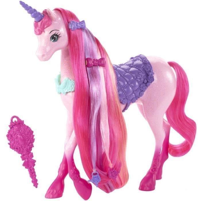 Barbie licorne chevelure magique achat vente poup e - Barbie licorne ...