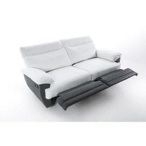 CANAPÉ - SOFA - DIVAN SKY Canapé de relaxation droit 3 places - Simili b