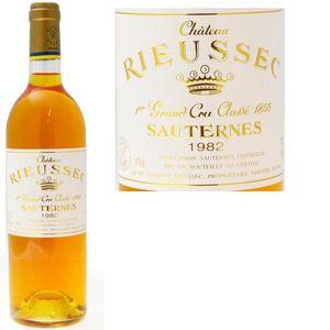 VIN BLANC Ch. Rieussec 1er Gd Cru Classé Sauternes 1982 x6