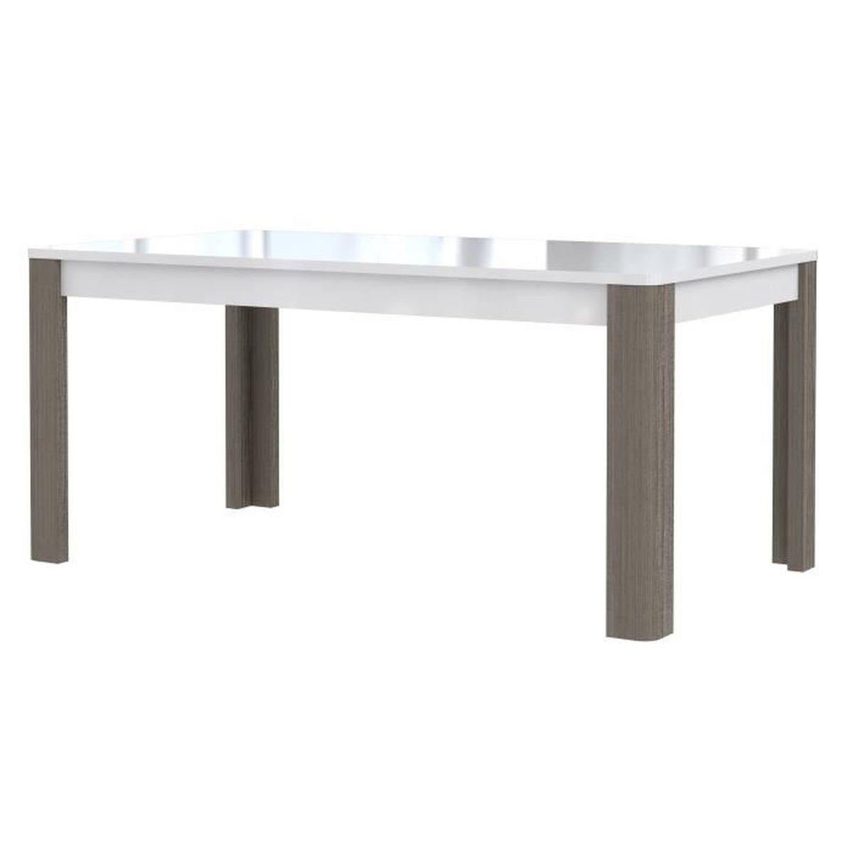 Table X Achat Vente Table X Pas Cher Cdiscount - Finlandek table a manger extensible nuori pour idees de deco de cuisine