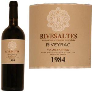Apéritif à base de vin Rivesaltes 1984 Riveyrac 17° 75cl