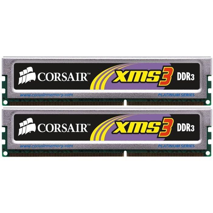 MÉMOIRE RAM Corsair XMS3 4Go DDR3 1333MHz C9