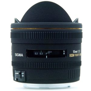 OBJECTIF Sigma 10mm F2.8 EX DC FISHEYE HSM pour Canon