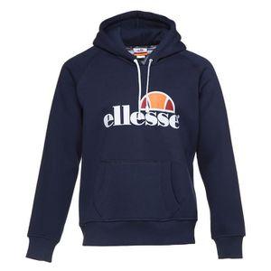 SWEATSHIRT ELLESSE Sweatshirt avec capuche - Homme - Bleu mar