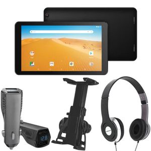 TABLETTE TACTILE Pack Tablette Tactile + Support voiture + Chargeur