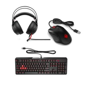 PACK CLAVIER - SOURIS Pack gaming OMEN - Clavier  Filaire OMEN 1100 + Ca