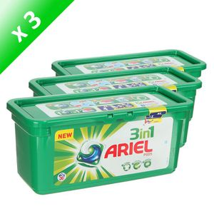 LESSIVE ARIEL Pods 30d Régulier 864g (x3)