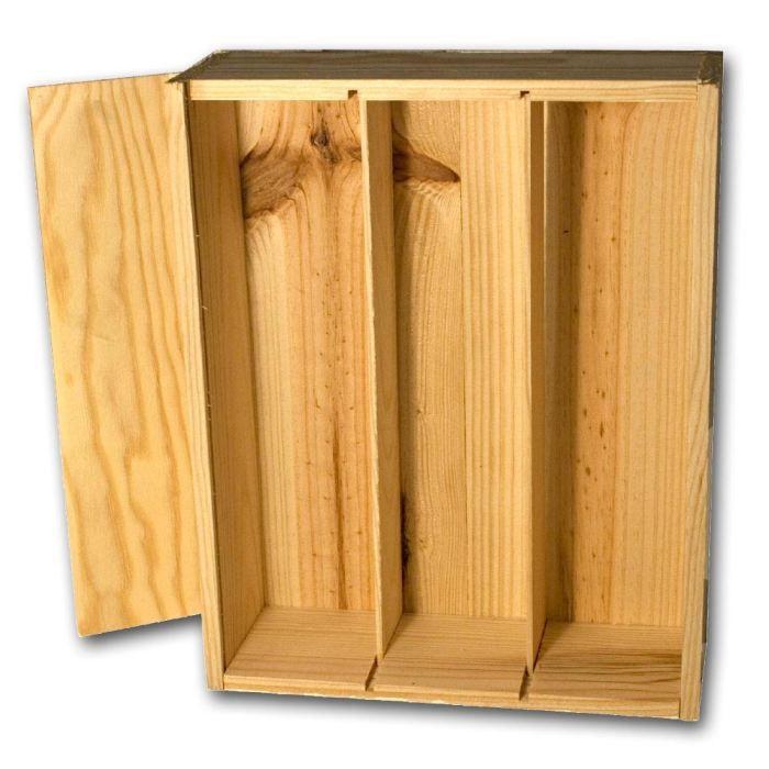 caisse bois bouteille achat vente pas cher. Black Bedroom Furniture Sets. Home Design Ideas