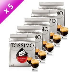 CAFÉ - CHICORÉE TASSIMO CN Expresso Intense 16 T-discs 112g (x5)