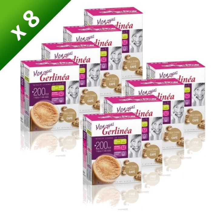 GERLINEA Milk Shake Café 9x30g (x8) - Achat / Vente goûter ...